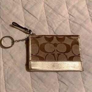 Coach credit card/key fob